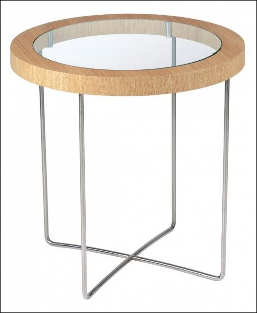 Incredible 101244 Round Side Table Oak and Glass. 525 x 640 · 25 kB · jpeg